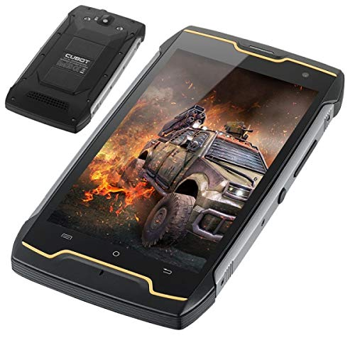 CUBOT Kingkong - IP68 Wasserdicht Staubdicht Stoßfestes Smartphone, Batterie 4400mAh, Android 7.0 5.0 Zoll Viererkabel-Kern 1.3GHz 2GB + 16GB, Kamera 8MP + 13MP GPS -