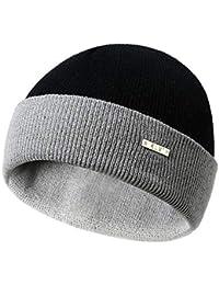 Uomo Autunno Inverno Caldo Cappello Lavorato A Maglia Moda All Aperto Lana  Caps Berretti 750e410021ef
