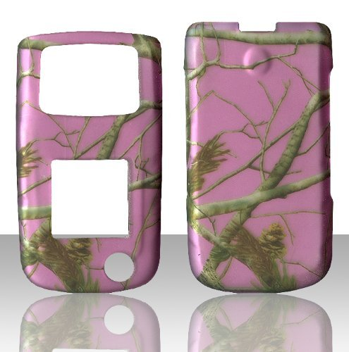 2D Pink Camo Tree Real Samsung SGH Rugby II 2 A847 ATT Case Cover Phone Snap on Cover Case Faceplates