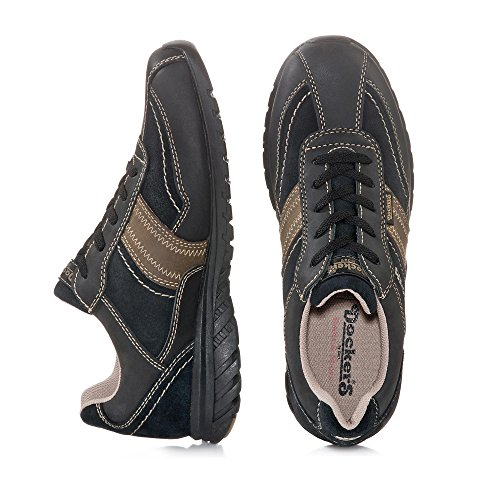 Dockers Sneaker Schwarz/Braun