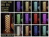 """Pilastro luminoso """"Venezia"""" altezza 90 cm lampada a stelo lampada da pavimento incl. LED, cambia colore, con telecomando"""