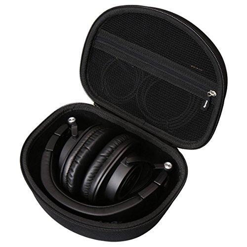 Aproca Dur Voyage Étui de Rigide Housse Cas pour Audio-Technica ATH-M30X M40X M50X M70X Casque Audio Professionnel