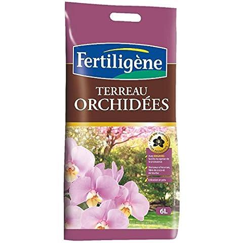 Fertiligene - Terreau orchidées / Sac 6 l
