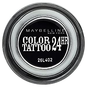 Gemey Maybelline Eye Studio Colour Tattoo 24 H Eye Shadow 60 Timeless Black