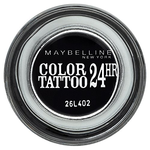 Gemey Maybelline New York Fard à Paupières Color Tattoo Timeless Black