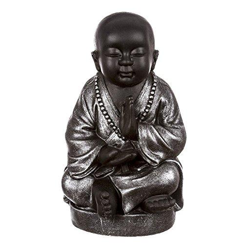 dcasa – Figura buda surte sentado resina 42 cm decoracion