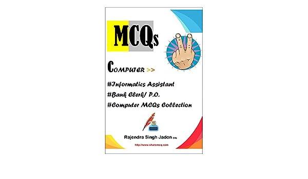 MCQs Computer eBook: RAJENDRA SINGH JADON: Amazon in: Kindle Store