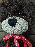 Teddybär Weihnachtsgeschenk gehäkelt Handgefertigt Kuscheltier