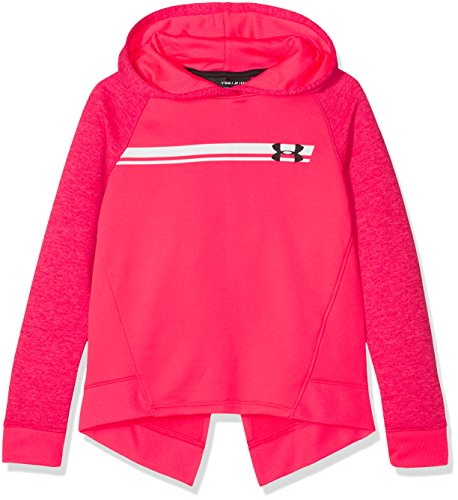 Under Armour Teamwork Terry Hoody Sudadera, Niñas, Rosa (975), M