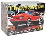 Revell Ford Mustang LX 5.0 Drag Racer Coupe 1990 Rot 85-4195 Bausatz Kit 1/25 1/24 Monogram Modell Auto