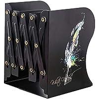 KWT Multipurpose Expandable Bookcase Desktop Bookend Stand Holder Adjustable Book Rack for Kid Office Book Organizer Box…