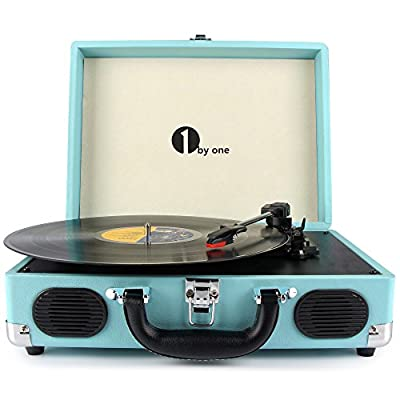 1byone Speed Stereo Turntable