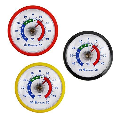 Termómetro Mundo Juego 3pieza termómetro frigorífico