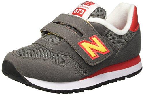 New Balance NBKV373TOP, Chaussures de Marche pour Bébé Bébes, Jaune (Grey Orange), 28 EU