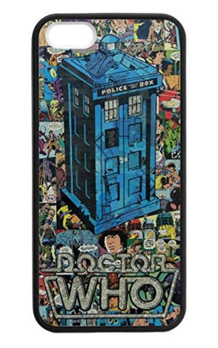 Phone Kandy® Dr Who hard case Hülle Abdeckung Haut tascen (iPhone 6 6s (4.7inch), Tardis - Retro Comic) (Who Dr Iphone Fall 6)