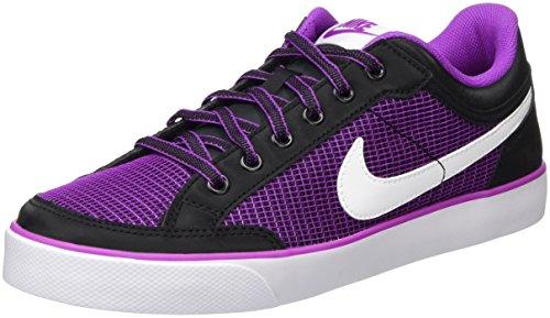 Nike Mädchen Capri 3 TXT Skateboardschuhe, Schwarz (Black/White-Hyper Violet), 38.5 EU