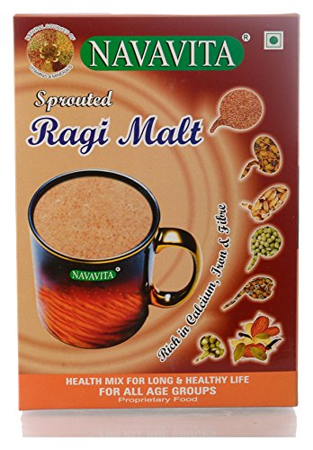 NAVAVITA Sprouted Ragi Malt - 500g