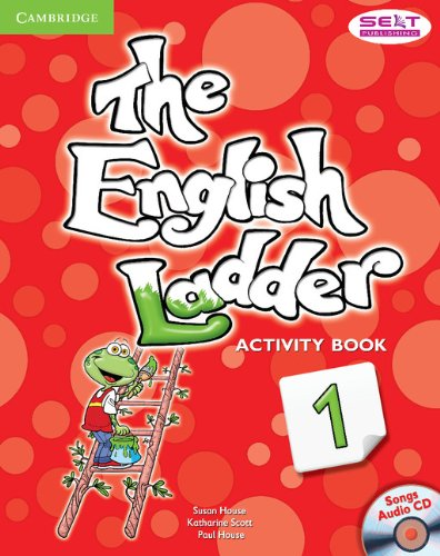 The English Ladder  1 Activity Book with Songs Audio CD - 9781107400634
