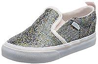 Vans Baby Girls TD Asher V Z Walking Shoes, Multicolor ((Glitter) Multi), 8 Child UK 25 EU