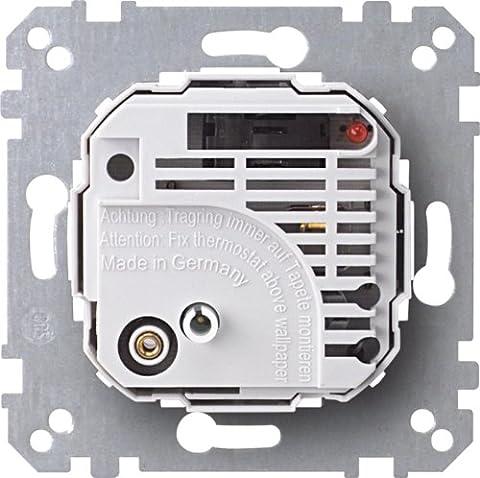 Merten 536302 Raumtemperaturregler-Einsatz mit Schalter, AC 230 V
