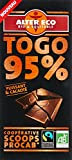 Alter Eco Chocolat Noir Togo 95% Bio et Equitable 90 g