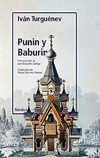 Punin y Baburin par Iván Turguénev