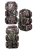 Zaino da campeggio trekking 90L alta qualità resistente all' acqua viaggi escursioni zaino, Camouflage-3