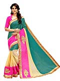 shiroya brothers Women's Paper Silk Saree with Blouse Piece, Free Size (Multicolour, SB_Sari_7788)