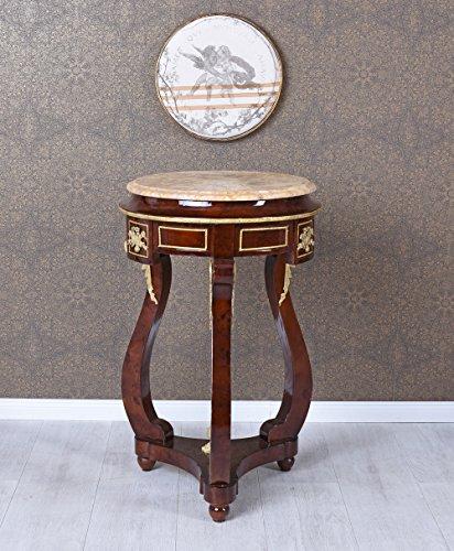 Blumentisch Barock Blumenhocker runder Tisch Barocktisch Beistelltisch Antik Palazzo Exklusiv