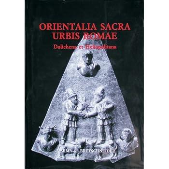 Orientalia Sacra Urbis Romae