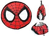 J.T.Hatched Spiderman Tapis de Jouets, Sac à Cordon, offrant Solution, boîte à...
