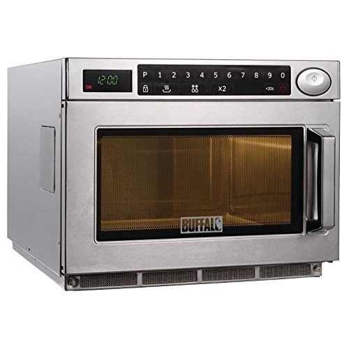 51wX4BhinCL. SS500  - Buffalo Programmable Commercial Microwave Oven 1500W
