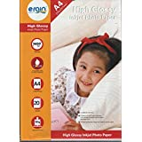 Ergin High Glossy Inkjet Photo Paper Size A4 20 Sheets 185 gsm