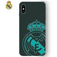 Real Madrid rmcar018Schutzhülle TPU für Apple iPhone X, schwarz