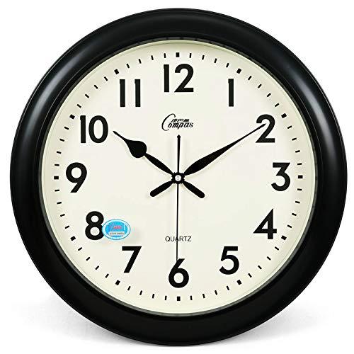 JINSH Home Wanduhr, Wohnzimmer, stille Uhr, kreative Uhrenkunst, große Quarzuhr, Moderne Mode, ewiger Kalender, hängende Uhr