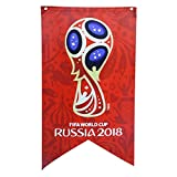 Newin Star WM Flagge, WM Banner 2018 Russland WM Fanartikel, Ideal für Fanatics, Bar, Sport Club, Restaurant, Billardraum, Supermarkt und Party Dekoration (Emblem)