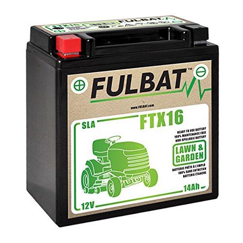 Fulbat - Batteria moto/motoculture YTX16 / FTX16 / YTX16-BS 12V 14Ah
