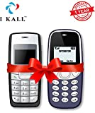 #10: I KALL 1.4 -inch Display Feature Mobile Combo - K72 (Black) and k71 (Dark Blue)