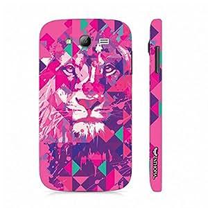 Samsung Galaxy J5 Lion Art Pink designer mobile hard shell case by Enthopia