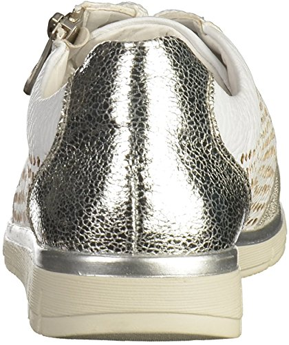 Rieker N4025, Sneakers Basses Femme Blanc (Ice/white-silver/weiss/silber / 80)
