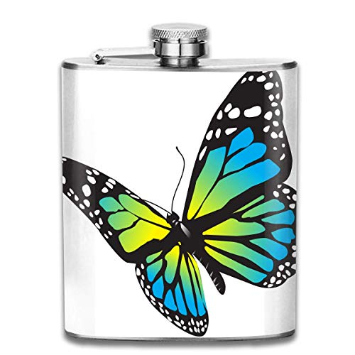 ly Retro Portable 304 Stainless Steel Leak-Proof Alcohol Whiskey Liquor Wine 7OZ Pot Hip Flask Travel Camping Flagon for Man Woman Flask Great Little Gift ()
