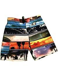 44ae97a6a Hang Ten Men's Swim Trunks Board Shorts XX-Large Black