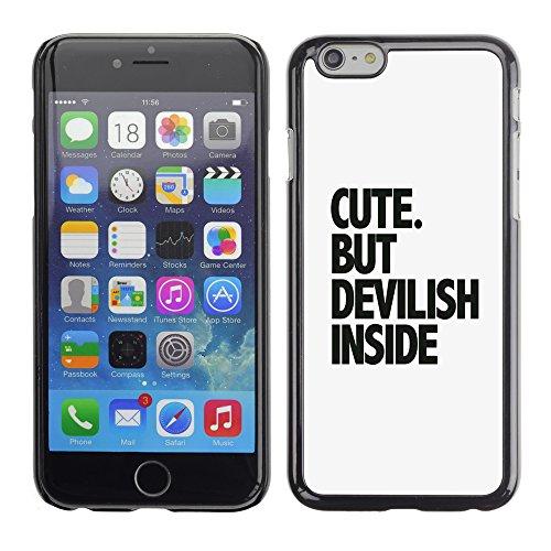 Graphic4You Dont Settle Love Englisch Zitat Nachricht Harte Hülle Case Tasche Schutzhülle für Apple iPhone 6 / 6S Design #5