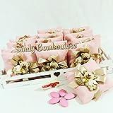 Bolsa para dulces con imán oso teddyheart Confetti y tarjeta personalizado