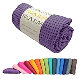 Yogabum antiscivolo asciugamano tappetino yoga Premium (Orchid Purple)