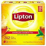 Lipton Tea, 312Count Tea Bags, 100 % Nat...
