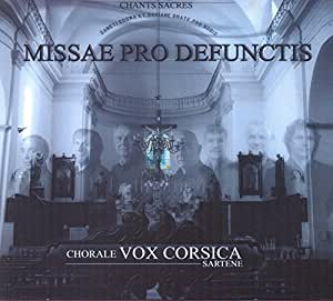 Missae Pro Defunctis-Chants Sacres