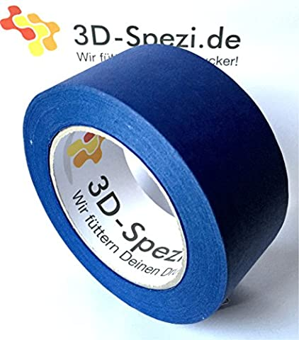 3D-Druck-Beschichtung 48mm breit x 50m lang - Blue Masking Tape