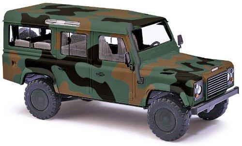 Busch Voitures - BUV50304 - Modélisme - Land Rover - Camouflage