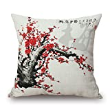 Artistdecor Throw Pillow Case Of Plant 20 X 20 Inches / 50 By 50 Cm,best Fit For Lover,sofa,outdoor,teens Girls,seat,kid